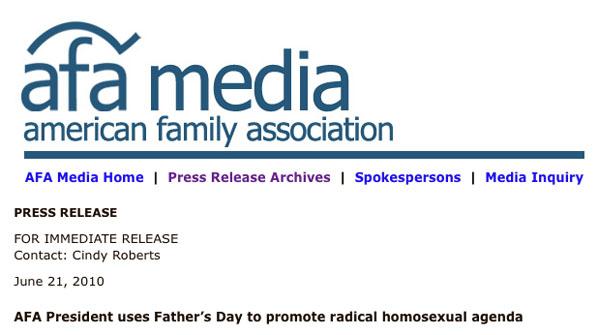 Radical homosexual agenda