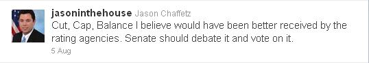 Rep. Jason Chaffetz tweet